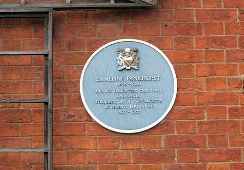The Pankhurst Centre, Manchester, UK.