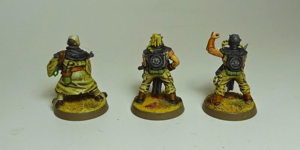 Warhammer Battle-Chaos-Putrid Blightkings-Manche arme à deux mains