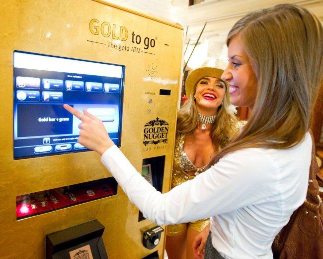 buy golden machine