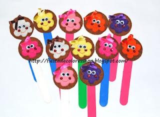Marcapaginas galletas