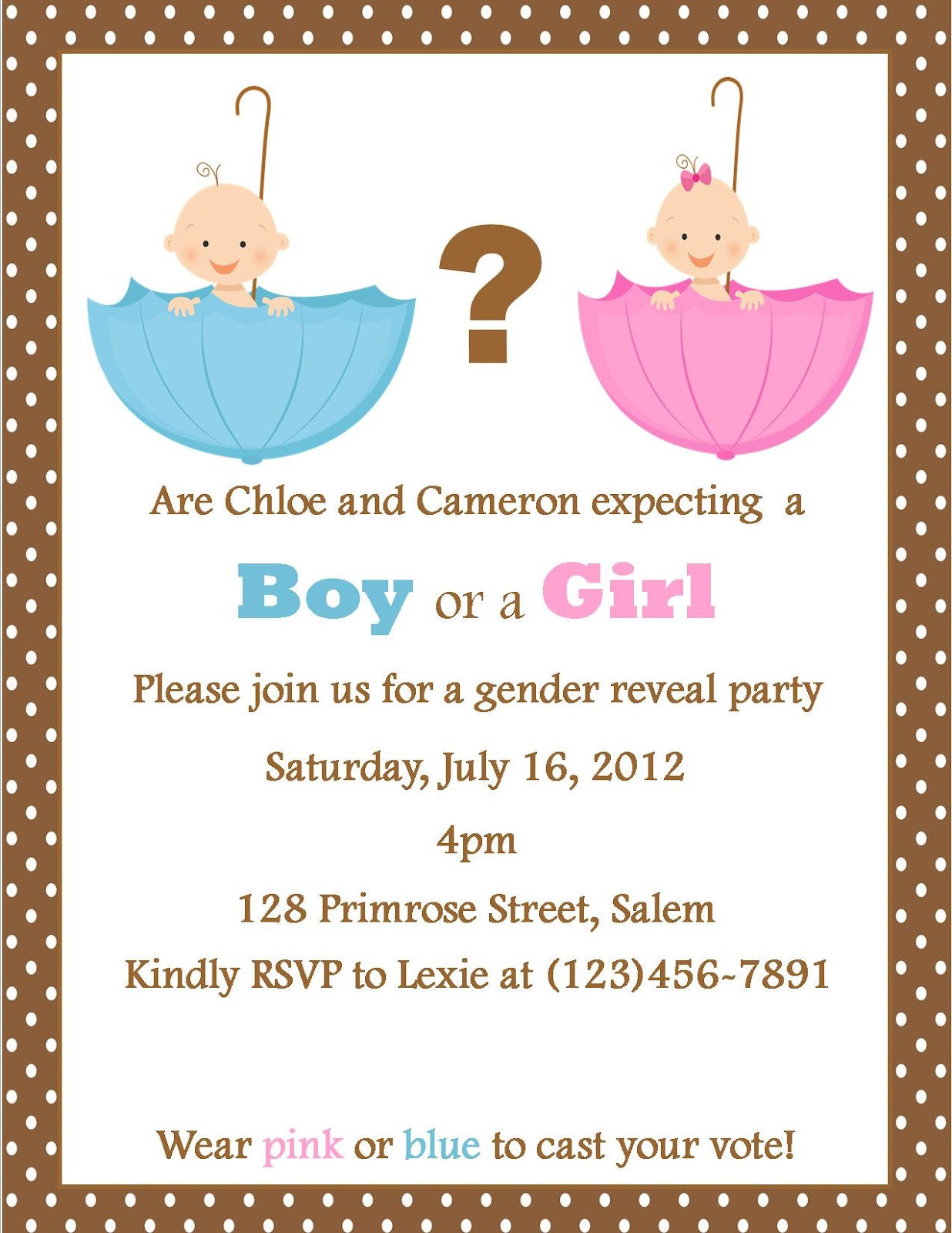 gender reveal party invitation wording pictures to pin on, party invitations