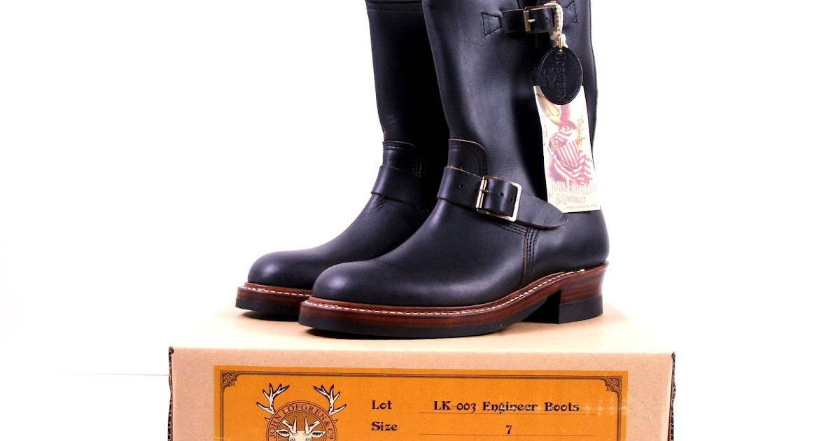 Vintage Engineer Boots: REVIEW: JOHN LOFGREN & CO ...