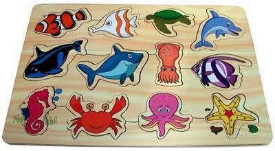 Puzzle Mainan Anak Sea