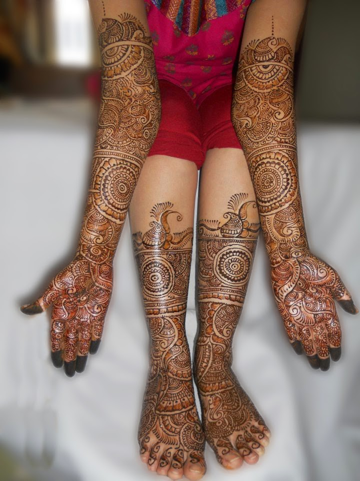 Top Ten Mehndi Designs for Girls