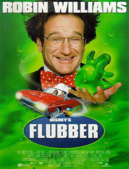 Flubber 1997 Hindi Dubbed Dual HDTVRip 480p 300mb