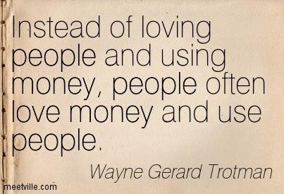 love people use money
