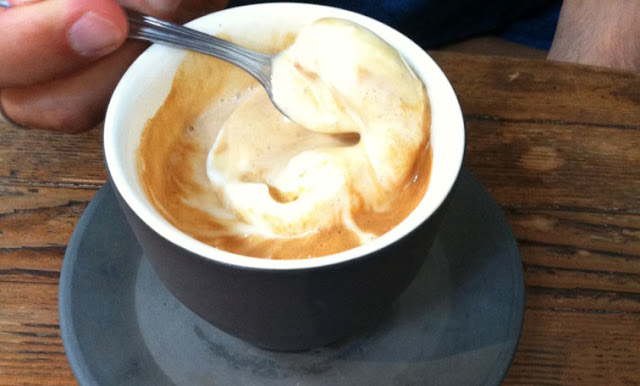 Affogato - Four Barrel, Mission District, San Francisco, Californie, USA