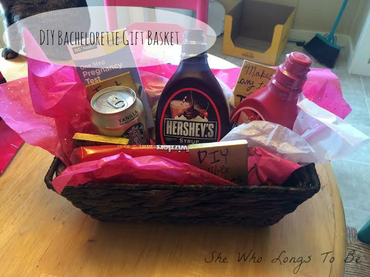DIY Bachelorette Gift Basket + Gift Bag Idea