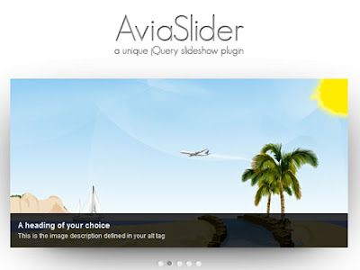 Avia Slider - A unique jQuery Slideshow plugin