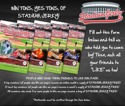 Free Bag of Stadium Jerky