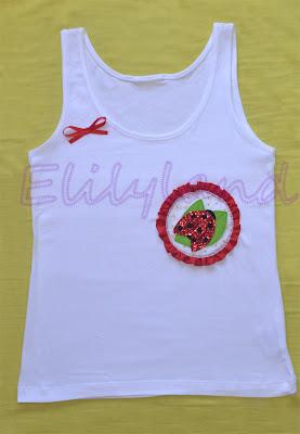 Camiseta Mariquita a Mano