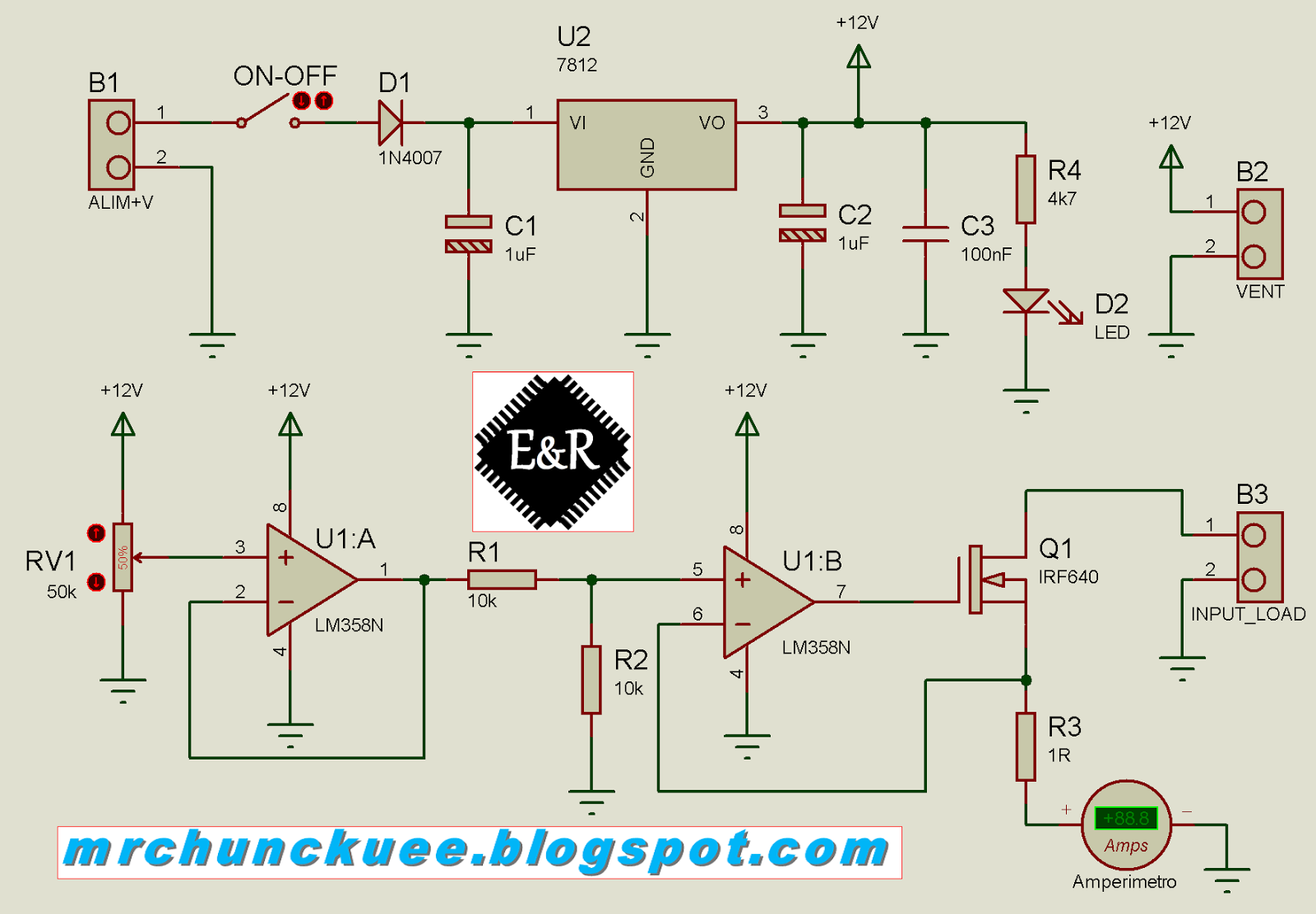 how to make constant current load
