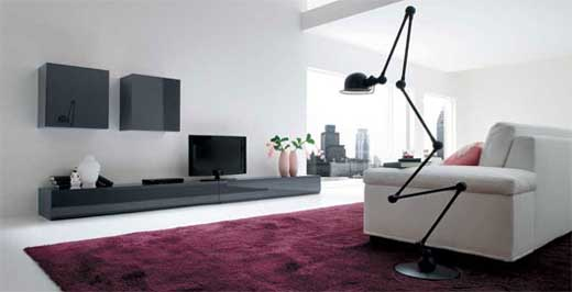 Modern Minimalist Living Room Decor By Dall'agnese 1