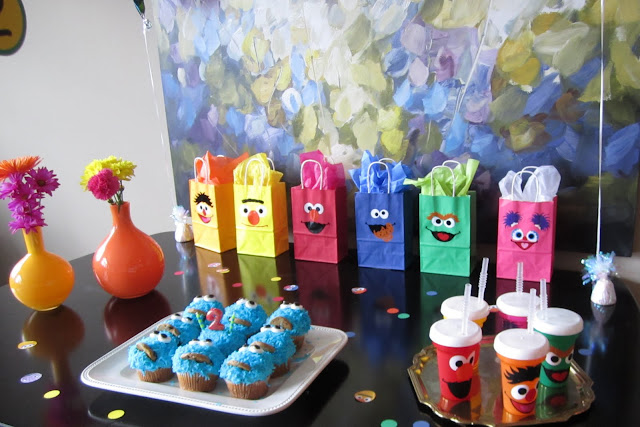Design Improvised: Stella's Sesame Street Birthday Party