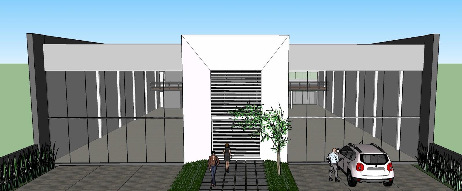 Famosos feito por arquiteto: projeto comercial AZ64
