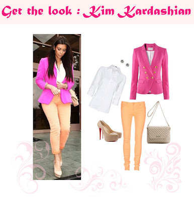 Get the look: Kim Kardashian