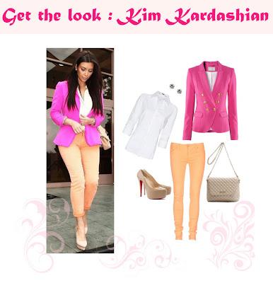 Get the look: Kim Kardashian