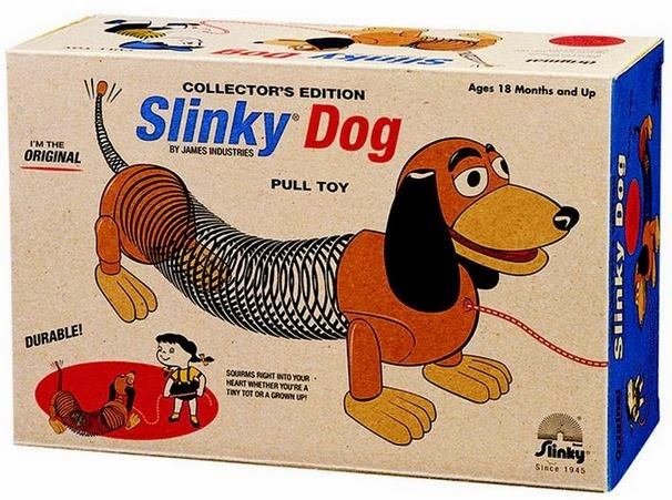 Slinky perro