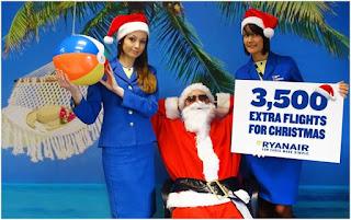 Ryanair lancia il conto alla rovescia per Natale!