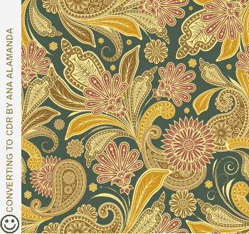 Cdr File Free Download , Batik Vector