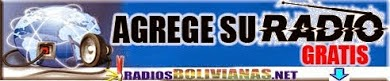 AGREGE SU RADIO BOLIVIANA GRATIS