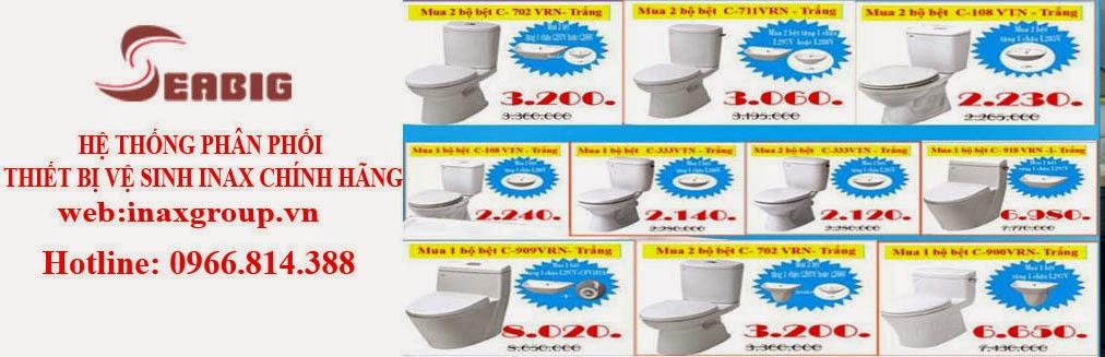 Thiết bị vệ sinh inax hàng chính hãng dịch vụ tốt nhất