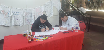 Union County Community College: Clothesline Project