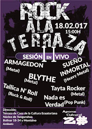 ROCK A LA TERRAZA