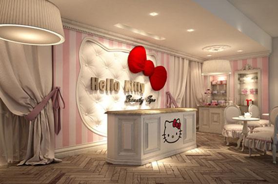 Piensa en chic hello kitty beauty spa for Salon de dubai