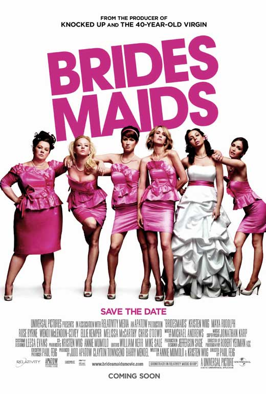 bridesmaids movie review Kristen wiig & co finally shatter the movie comedy glass ceiling and prove that women are not only funny, but funny as all-freakin' hell.