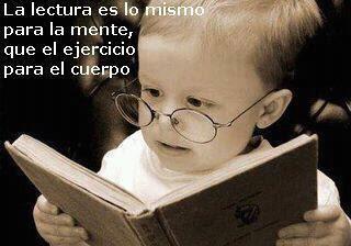 La lectura es lo mismo para la mente, que el ejercicio para el cuerpo.