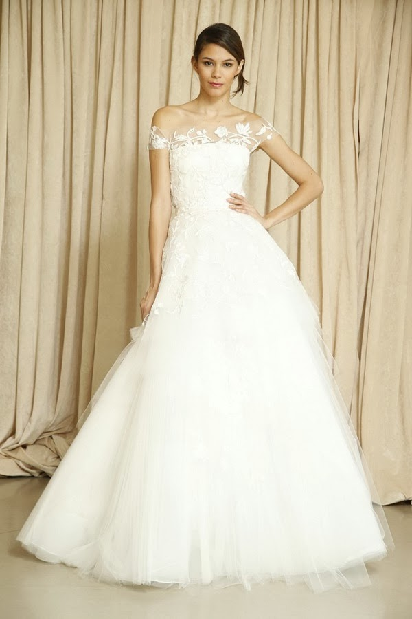 Oscar de la Renta Fall 2014 Bridal Collection