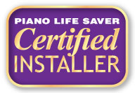 Piano Tuning & Repair Idaho Falls, Rexburg, Blackfoot is a Piano Life Saver Certified Installer.