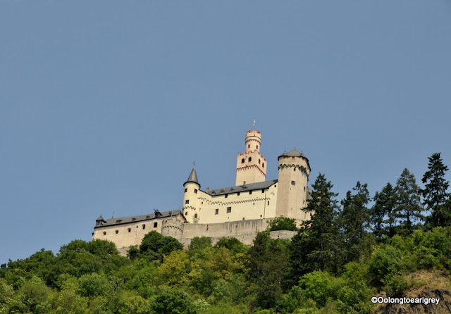 Marksburg Castle, Rhine River, Germany