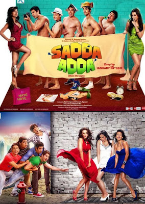 Poster Of Hindi Movie Sadda Adda 2011 Full HD Movie Free Download 720P Watch Online