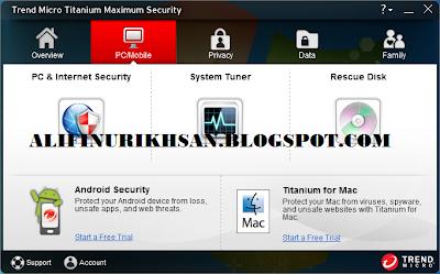 Antivirus Trend Micro Titanium Maximum Security 2013 Full Version+Serial