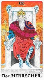 значение на Таро карта IV Императорът - хороскоп за 2015 година