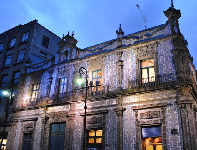 Arquim xico arquitectura y ciudad top 5 edificios m s for Casa de los azulejos mexico df