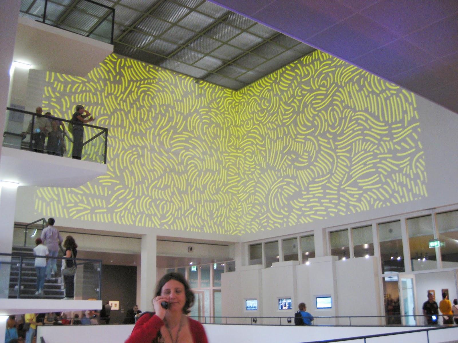Van Gogh Museum atrium, Amsterdam. Photo by Karen Muntean.