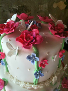 Lovely cake top