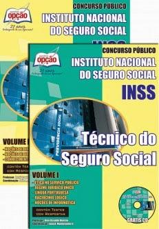 Apostila Concurso INSS - Instituto Nacional do Seguro Social - Técnico do Seguro Social - 2014.
