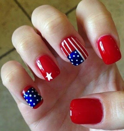 Fourth Of July Nail Art Designs 2014 Top Beauty Tips