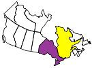 Canadian Provinces Visited by Motorcycle