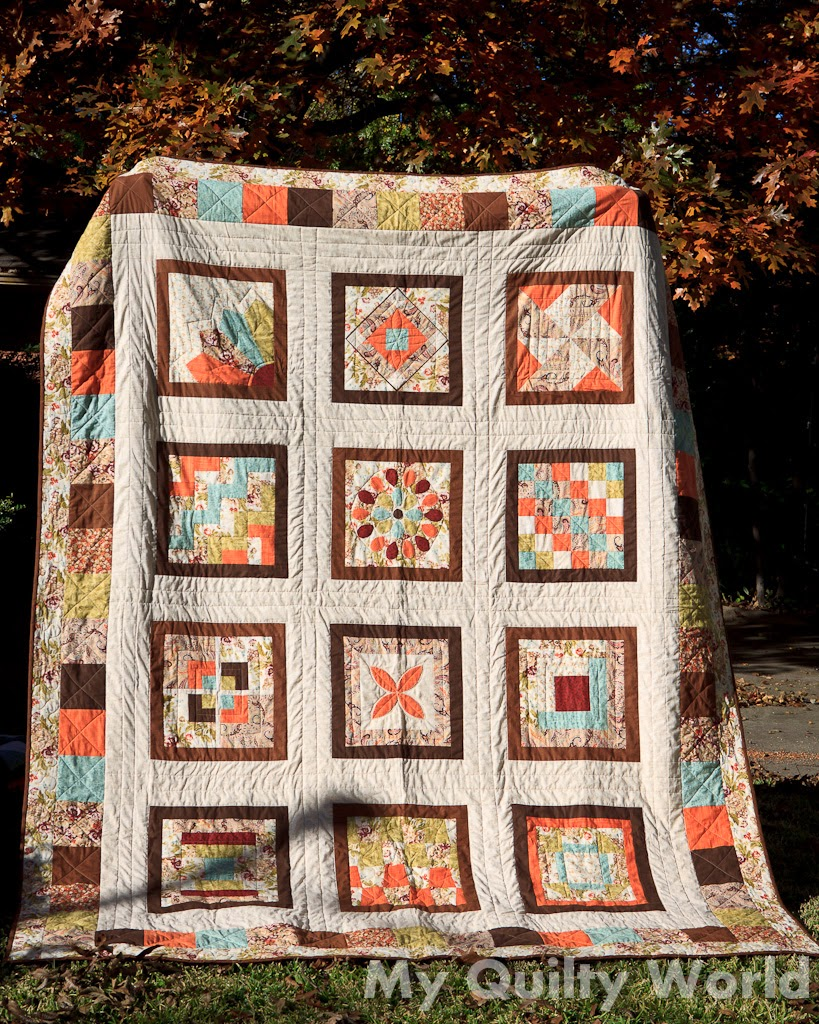 My Quilty World 2014 Finished Quilts