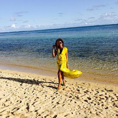 Photos of Genevieve Nnaji in Mauritius 1067914813821741451_29508641