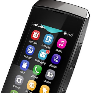 Nokia Asha 305 Full Touch Dual SIM Harga Rp 599 Ribu