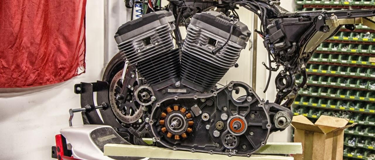 Harley Davidson Sportster Thunderstorm