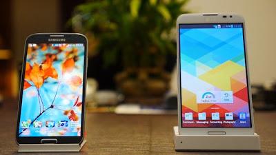Samsung Galaxy S4 vs LG Optimus G Pro