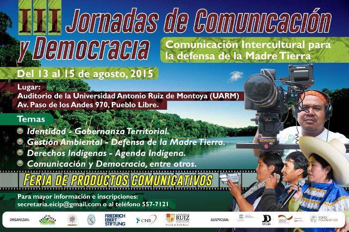 todo listo para las iii jornadas de comunicacin y democracia
