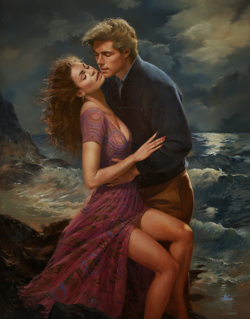 cute couple,art romance, ed tadiello